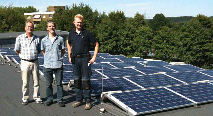 Solaranlage auf der Kita in Hagen Boele