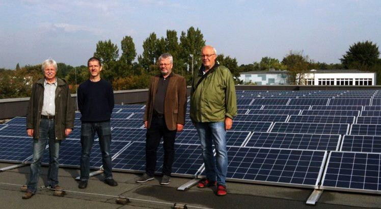 Die BEG 58 nimmt ihre erste Solaranlage in Bochum in Betrieb.