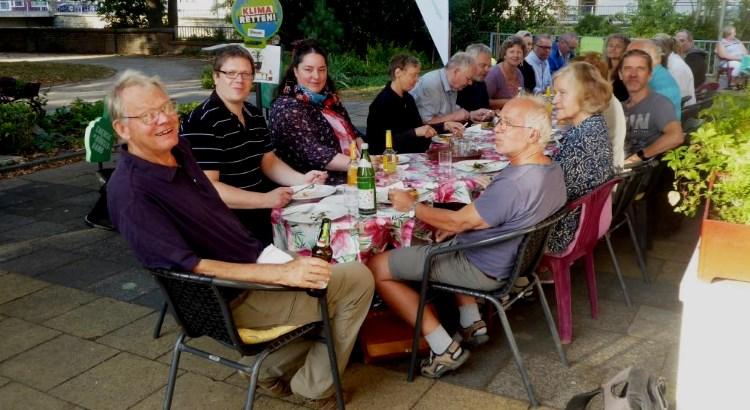 BEG-58 Aktiventreffen 2018 im Cafe Mundial, an den Ufern der Volme, mitten in Hagen.