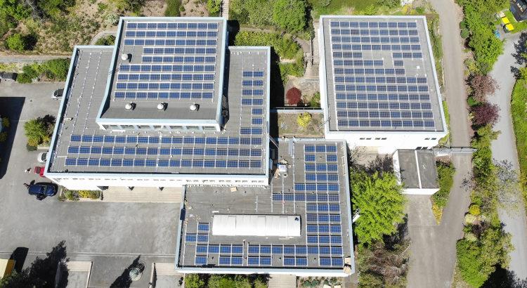 Solaranlage auf dem Berufskolleg Iserlohn-Letmathe