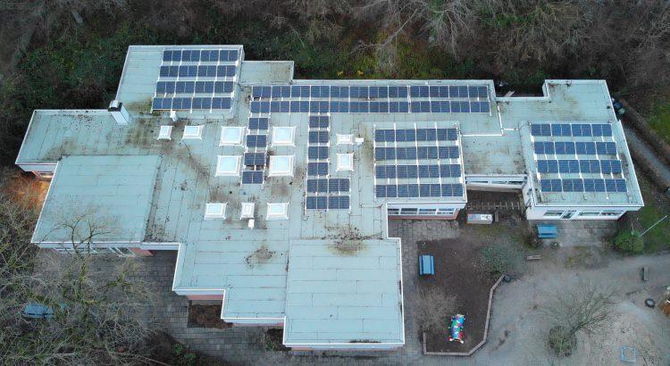 Klimaschutz: Solaranlage auf der Tageseinrichtung für Kinder Ende-Nord in Herdecke