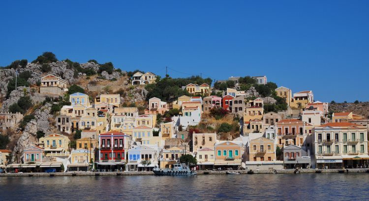 Dodécanèse, Symi, Greece