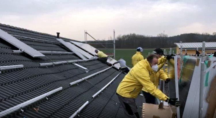 BEG-58 baut größte PV Anlage mit 273 kWp mit der hagewe in Hagen Emst