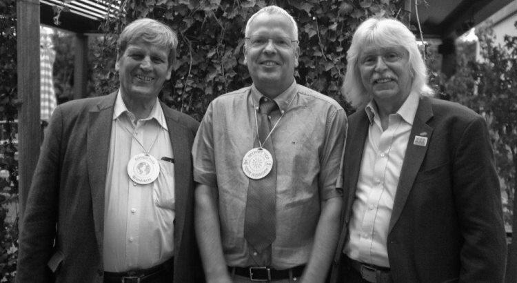 Das Bild zeigt von links nach rechts Prof. Eike Weber, Dr. Ingo Stuckmann und mich (Rolf Weber). Foto: Marcus Hiersemann